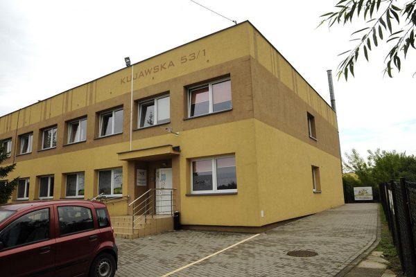 budynek poradni uzależnień w Białymstoku